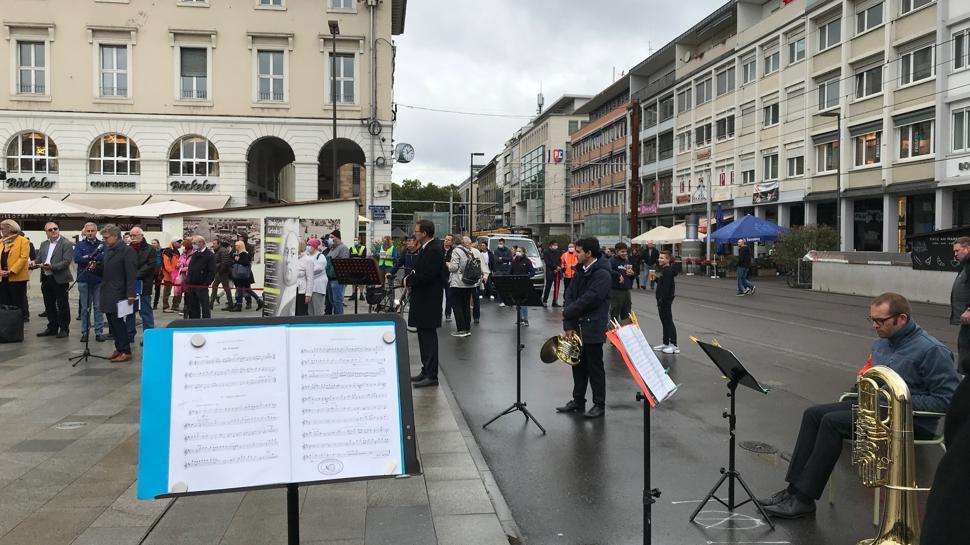 Blechbläser-Quintett des Badischen Staatstheaters