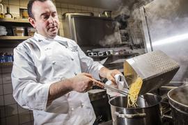 Marcello Galloti hat Pasta gekocht.