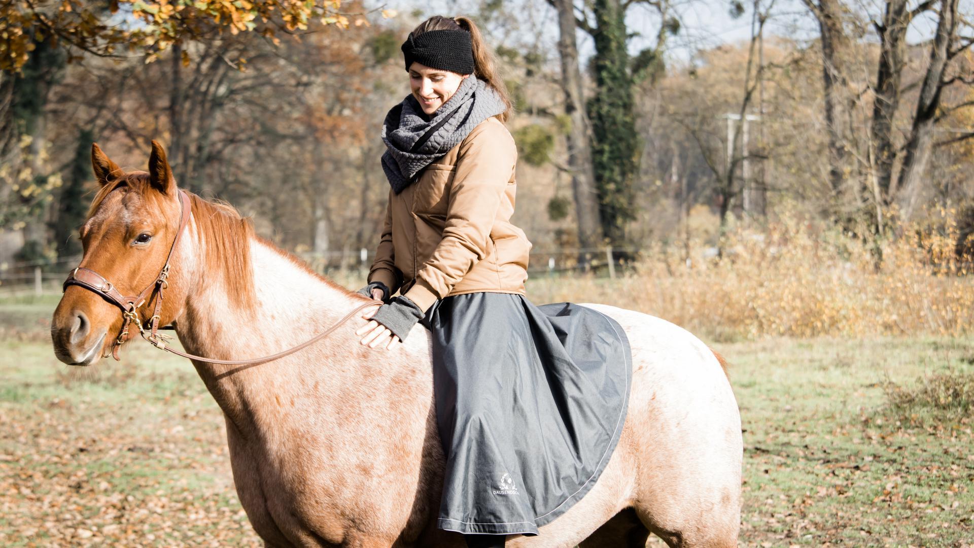 Frau Pferd