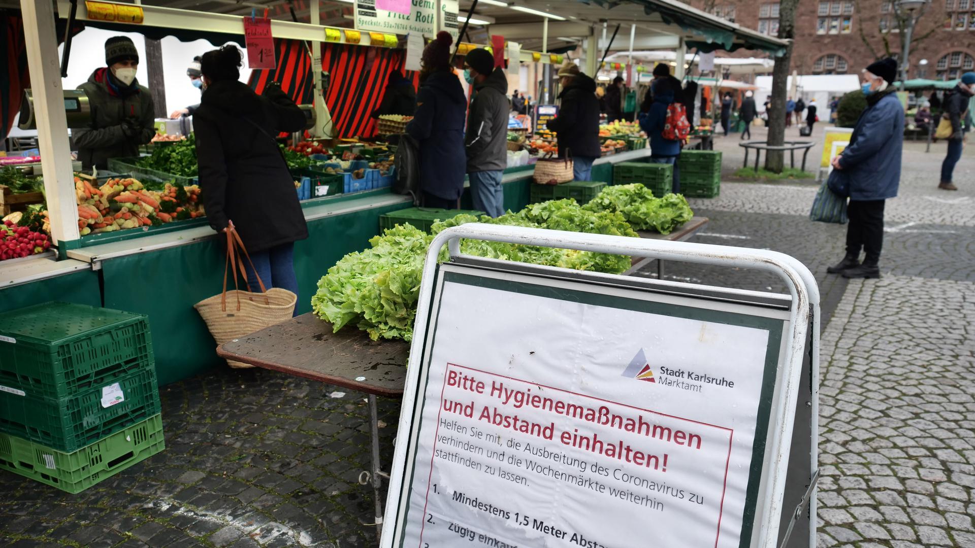 Markt auf dem Gutenbergplatz-