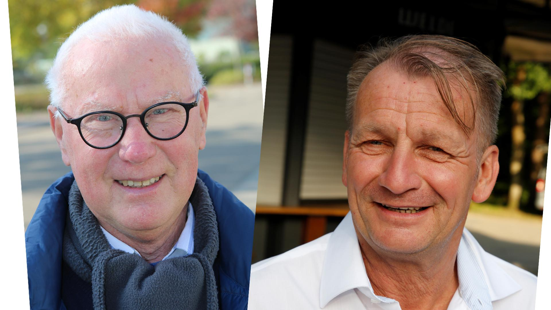 Roland Langer (l.) und Jürgen Vogel
