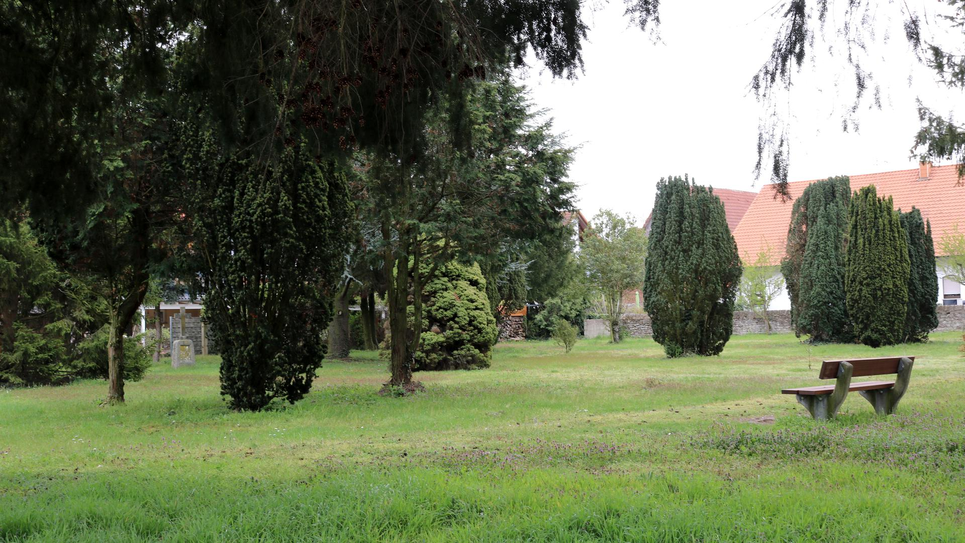 Alter Friedhof Stutensee-Friedrichsthal