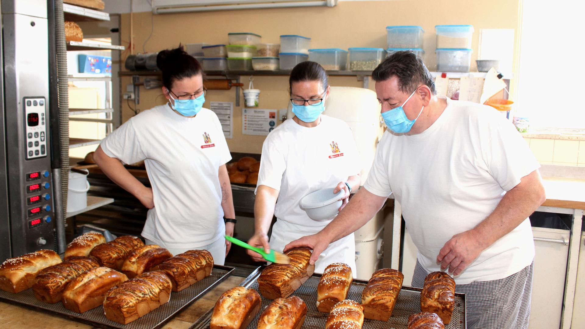 Bäckereibackstube