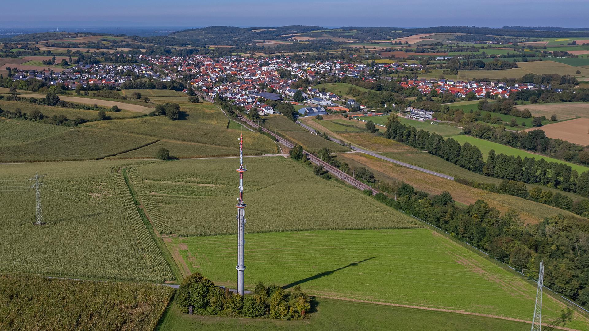 Funkmast Walzbachtal
