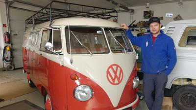 Bulli VW Bus Dettenheim