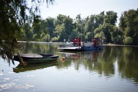 Es geht aufs Wasser: Die Museumsfähre ist am Tag der offenen Tür eine der Attraktionen in Eggenstein-Leopoldshafen.