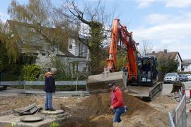 Sanierung: Leopoldshafen Hardtstraße