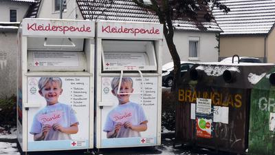 Eggenstein Kleidercontainer