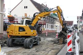 Straßensperrung Graben-Neudorf