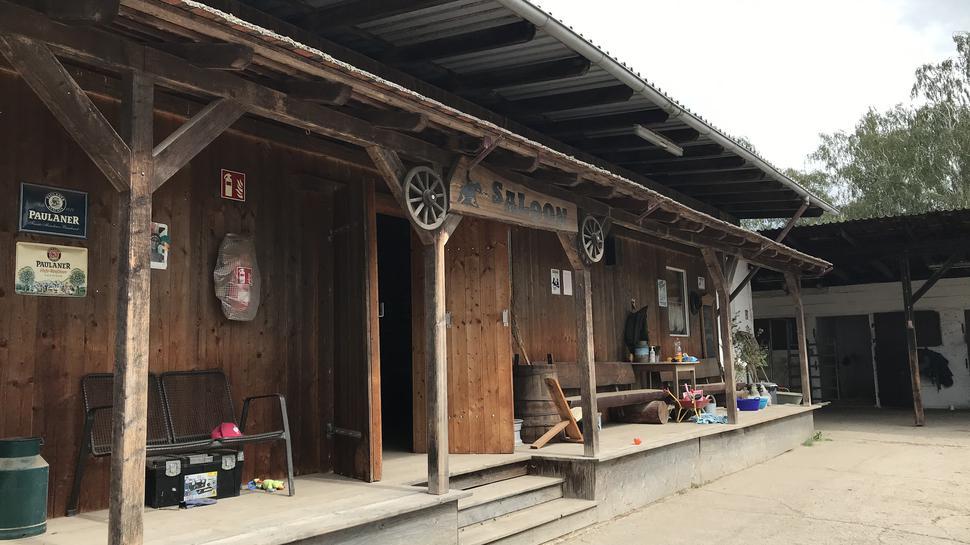 Saloon der Hardt Ranch
