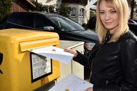 12.04.2021 Melanie Dörfler die Briefeschreiberin aus Graben-Neudorf