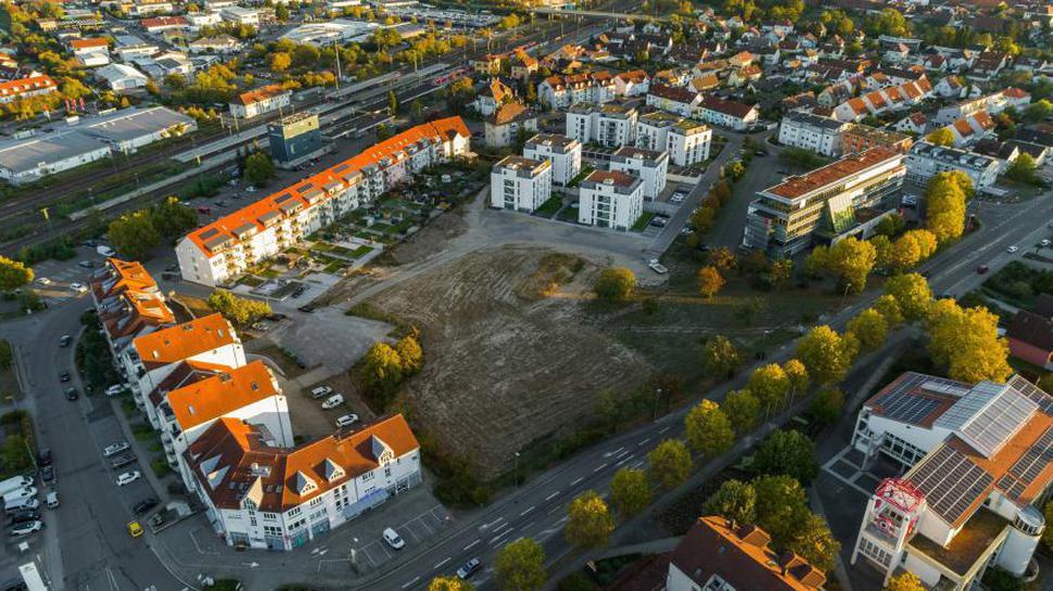 Graben-Neudorf; Bauareal Neue Mitte; Projekt LeBeN