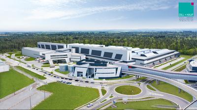 2023 soll die Halle Nord voll produktionsfertig sein. SEW Eurodrive investiert hierfür 150 Millionen Euro.