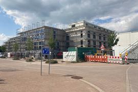 Der Neubau des Pflegeheims Geschwister Nees in Linkenheim-Hochstetten.