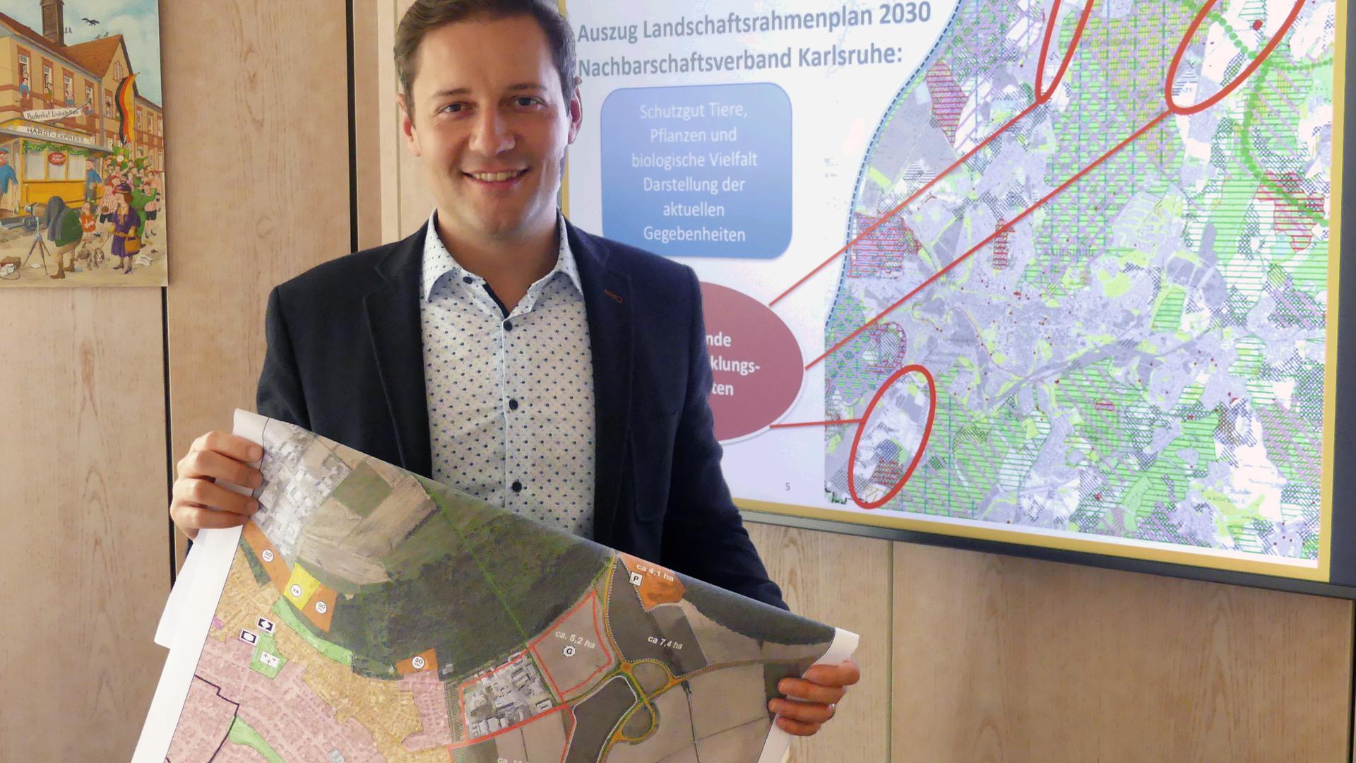 Bürgermeister Michael Möslang