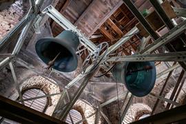 Kirchenglocken läuten um 18 Uhr zum Gedenken an die Opfer der Hochwasser-Katastrophe. Landesweit wurden zu dieser Stunde die Glocken an vielen Orten geläutet. +++ dpa-Bildfunk +++