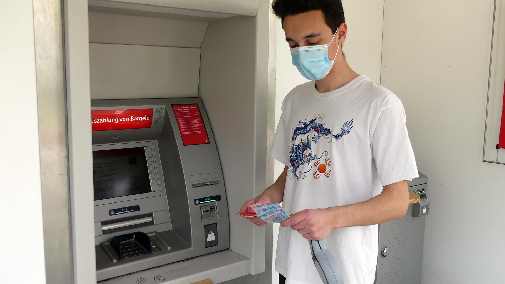 Sparkasse Geldautomat