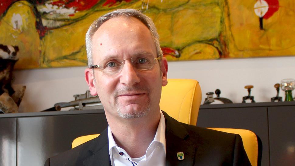 Weingartens Bürgermeister Eric Bänziger.