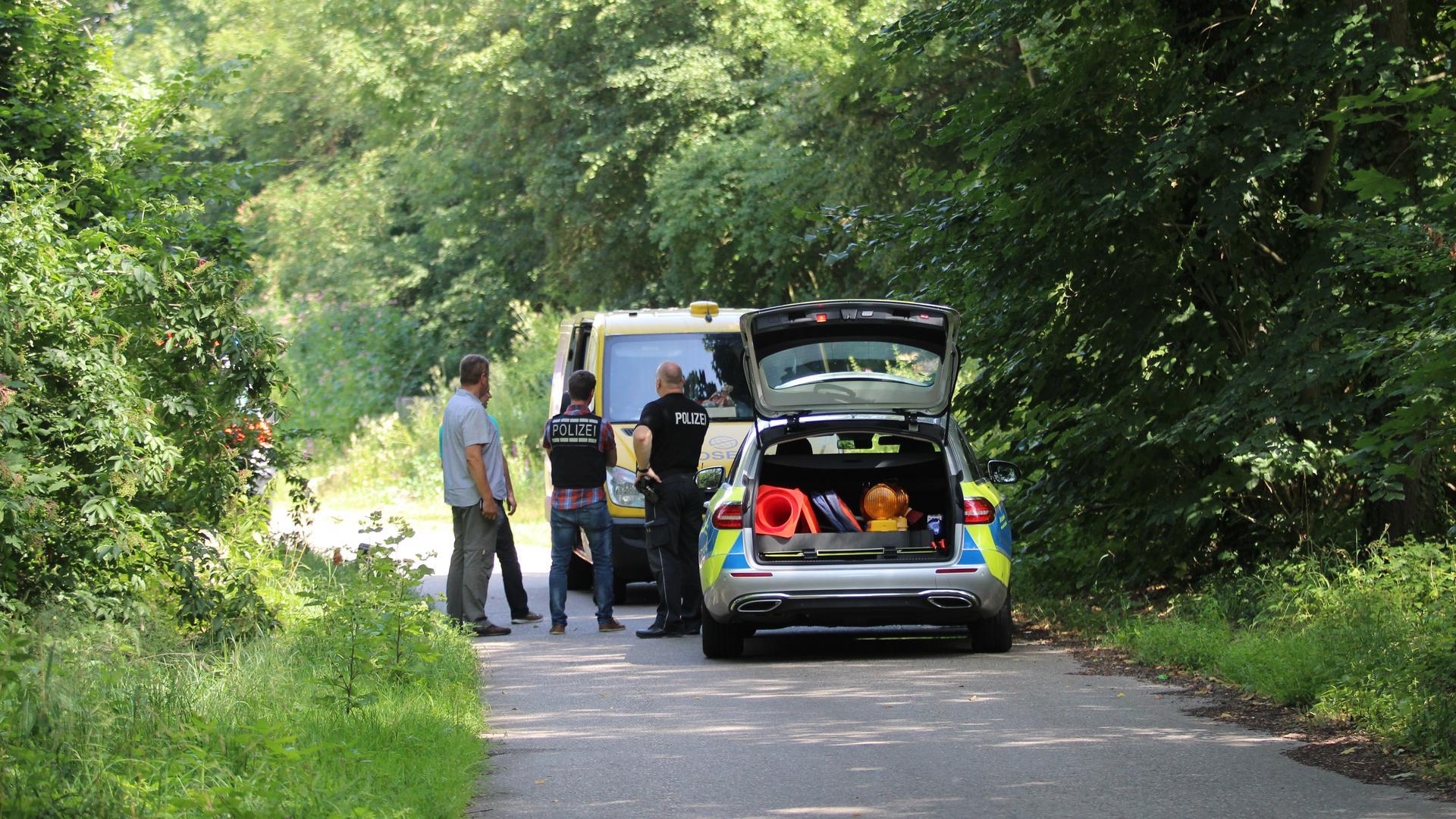 Überfall auf Geldtransporter in der Nähe der A5