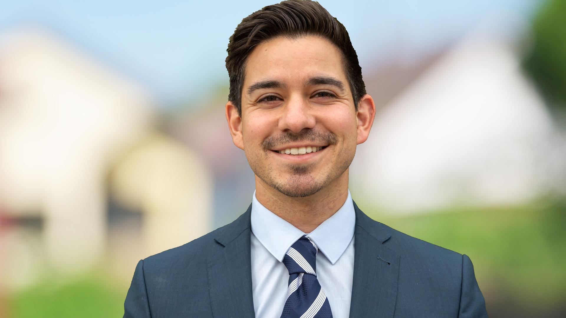 Ist neuer Bürgermeister von Walzbachtal: Timur Özcan.