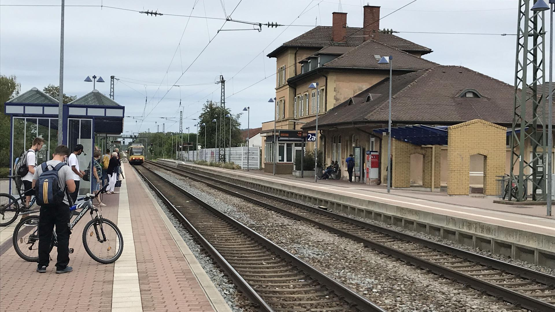 Bahnhof Weingarten