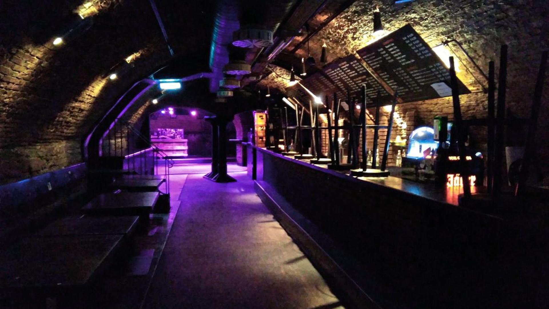 Leerer Partykeller: Wie hier im Krokokeller fehlen derzeit allen Karlsruher Nachtklubs die zahlenden Gäste. Die Fixkosten laufen trotzdem weiter.
