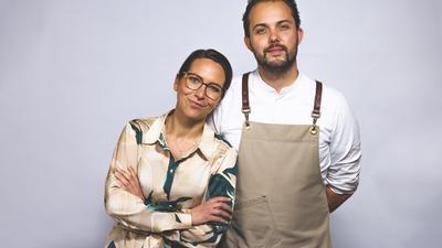 Max Goldberg und Kerstin Bauer