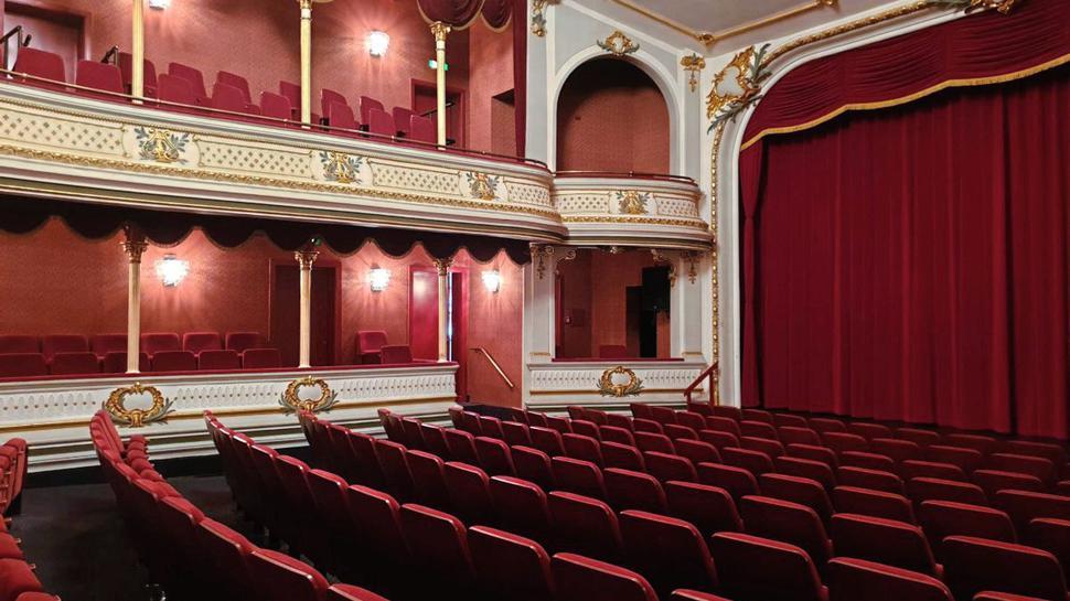 Theater auf der Insel Norderney