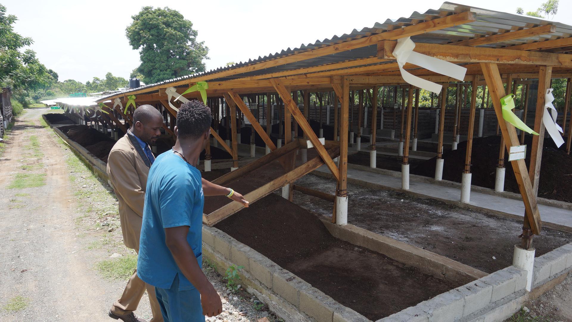Um den Hunger im Land zu bekämpfen, wurde ein Agrarprojekt ins Leben gerufen.