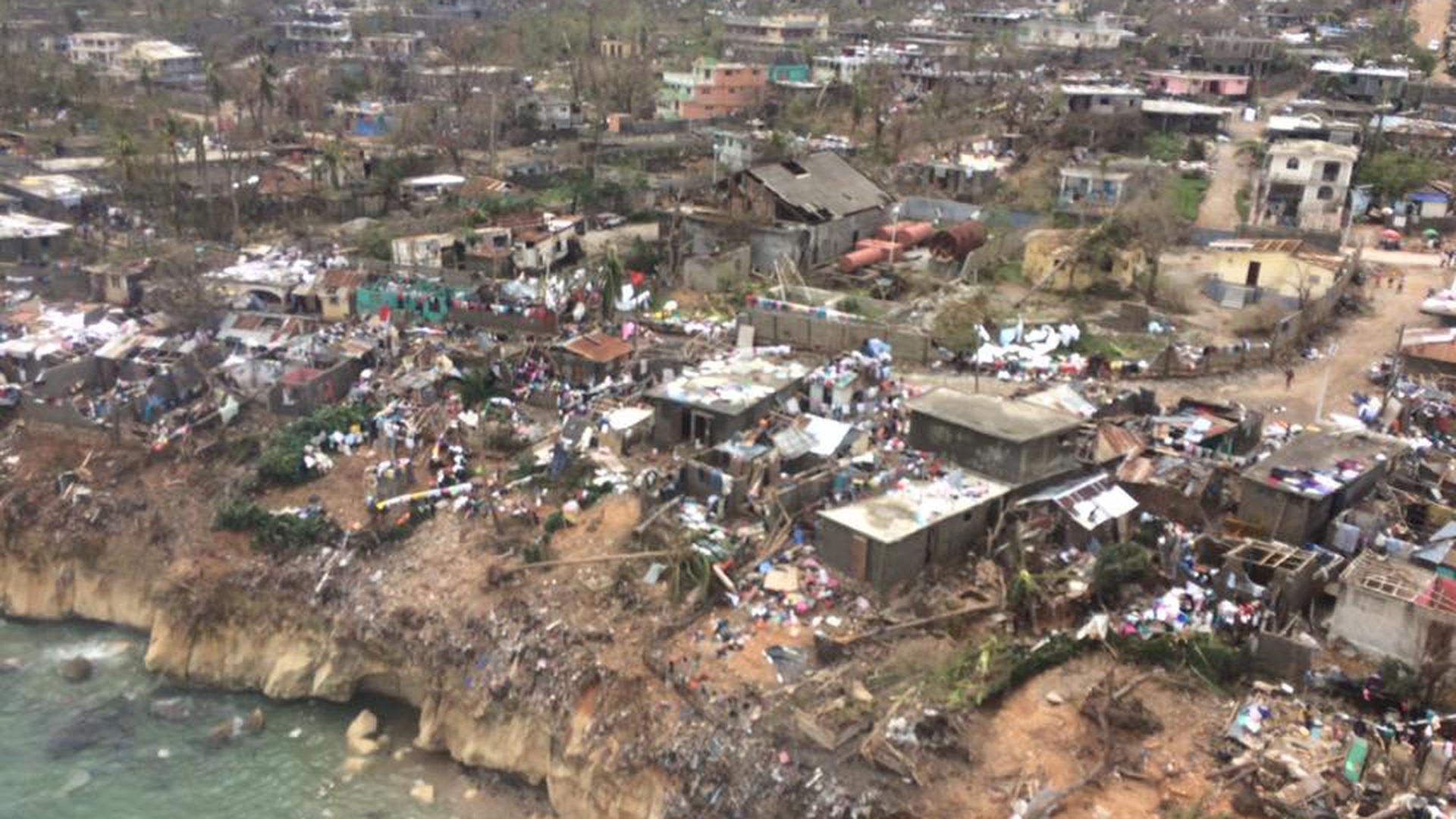 Hurrikan Mathew sorgte im Jahr 2016 für enorme Zerstörungen.