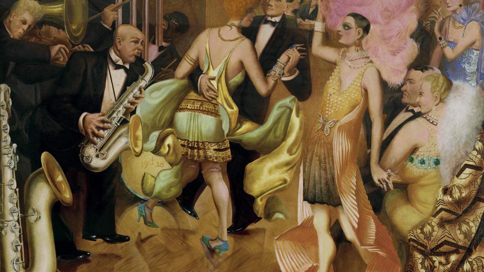 """In seinem Gemälde """"Großstadt"""" fing Otto Dix die Zwanziger Jahre ein."""