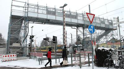 Bahnübergang / Brückenprovisorium