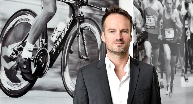 Mann Unternehmer Sportfoto Porträt