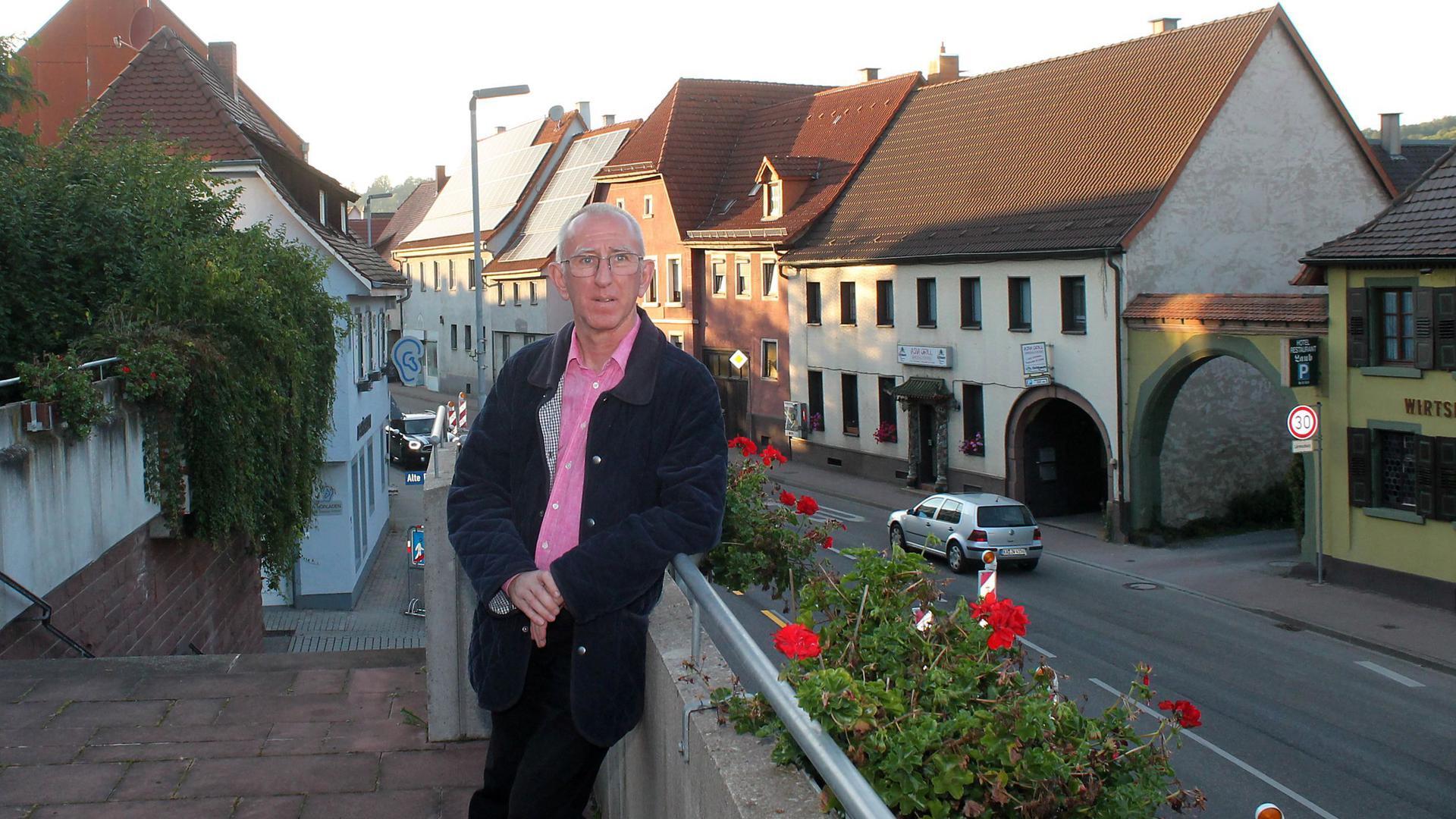 Berghausen + Vortisch im Vordergrund