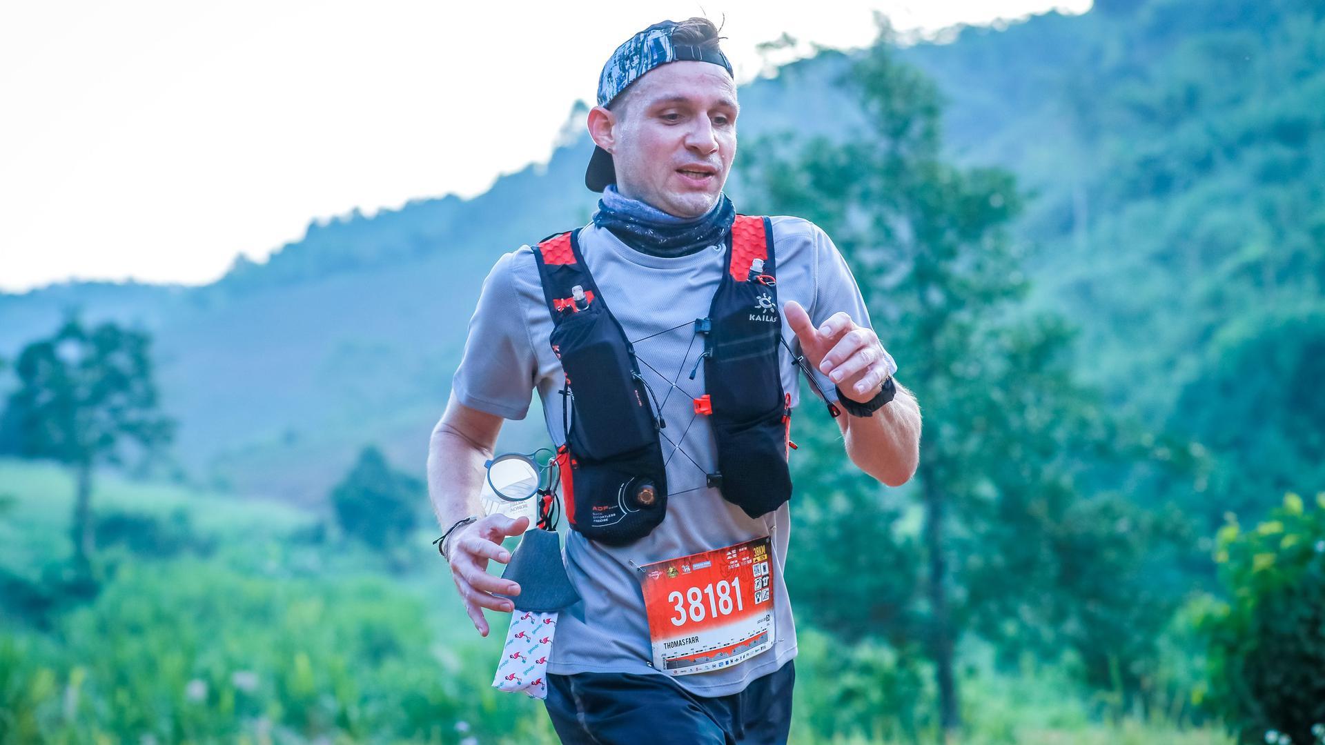 Bild von einem 38 Km Trail Run mit 1.200 Höhenmeter in Chiang Rai, Thailand. Das war im Oktober 2020. Platzierung 1. Platz Overall aller Altersklassen.