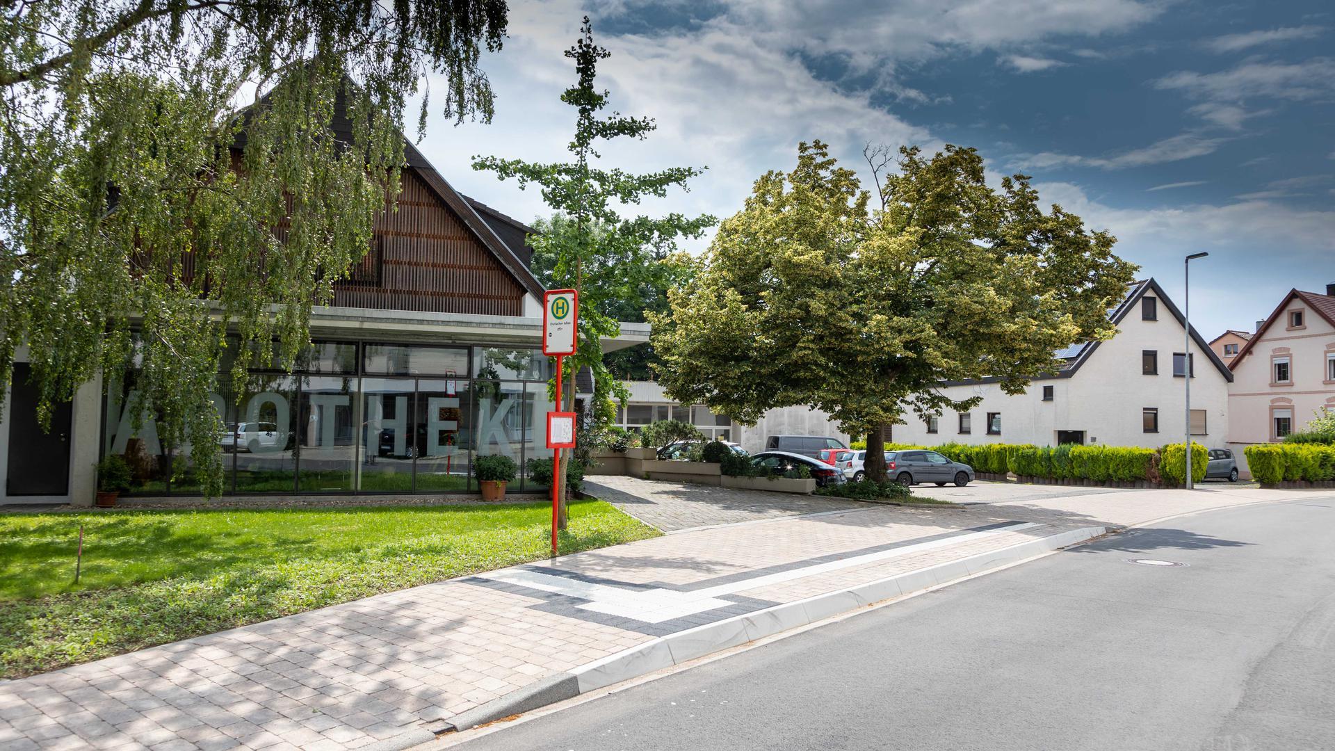 Der geplante W-Lan Access Point sollte nach CDU-Antrag eigentlich an der Bushaltestelle in der Wössinger Straße entstehen. Grüne und SPD waren aus finanziellen Gründen dagegen.