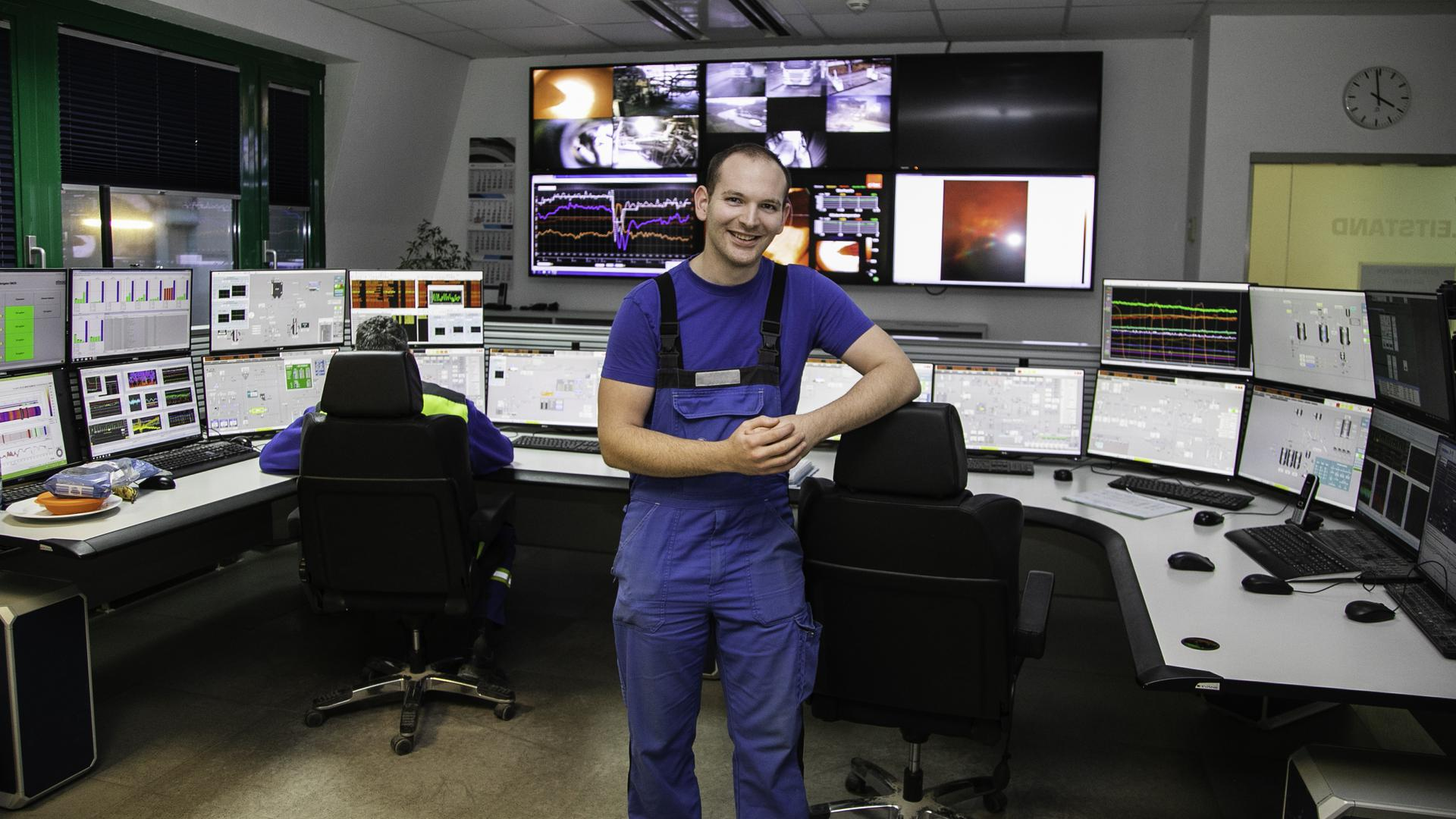 Dominic Dorsch ist bundesbester Auszubildender als Verfahrenstechniker in der Stein- und Erdenindustrie.