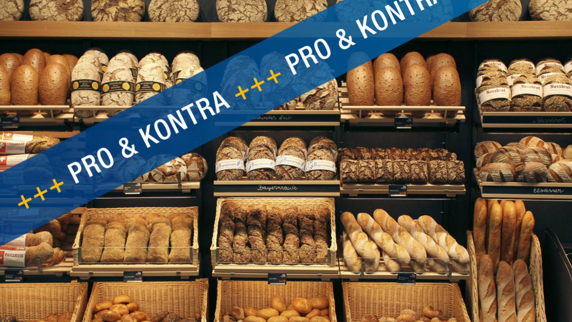 Laut Landesgesetz dürfen reine Bäckereien in Baden-Württemberg bislang sonntags nur drei Stunden lang geöffnet haben. Soll sich das ändern?