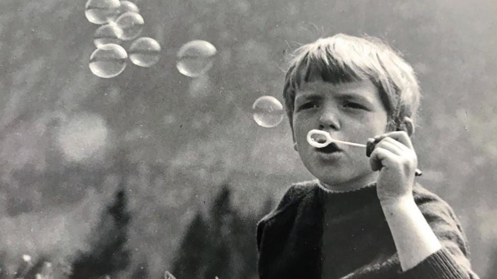 Rainer Haendle im Alter von acht Jahren.