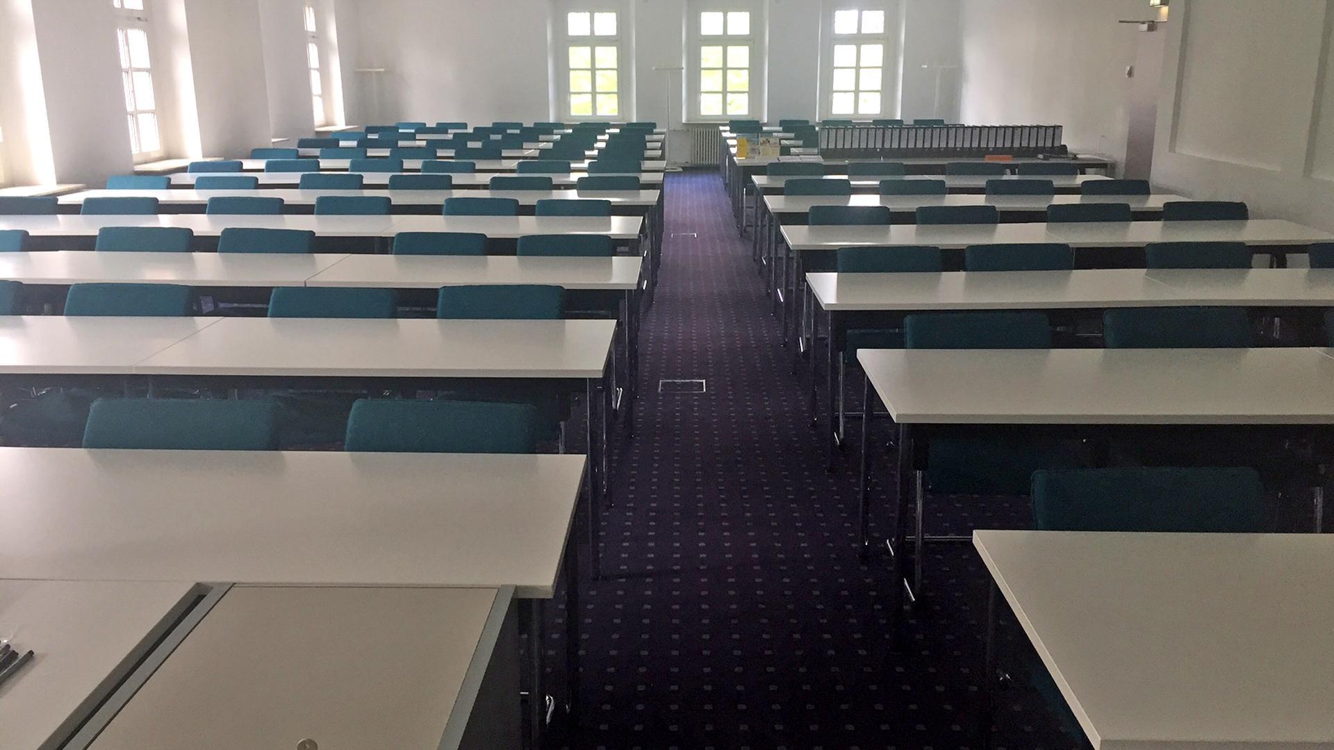 Auch für größere Kurse bieten die Räumlichkeiten der VWA ausreichend Platz.
