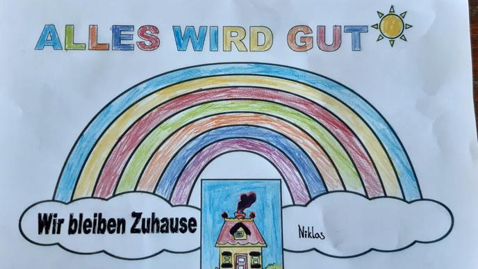Niklas aus Forchheim hat dieses Bild gemalt.