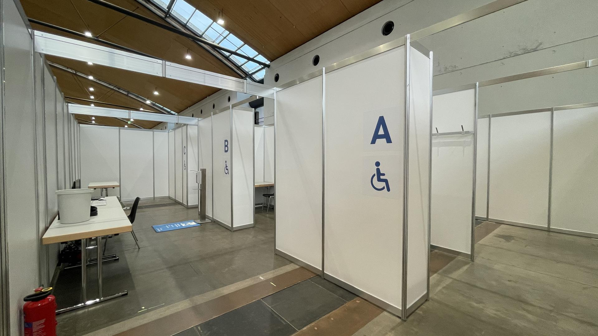 Arzt-Praxis Impfzentrum Messe Karlsruhe