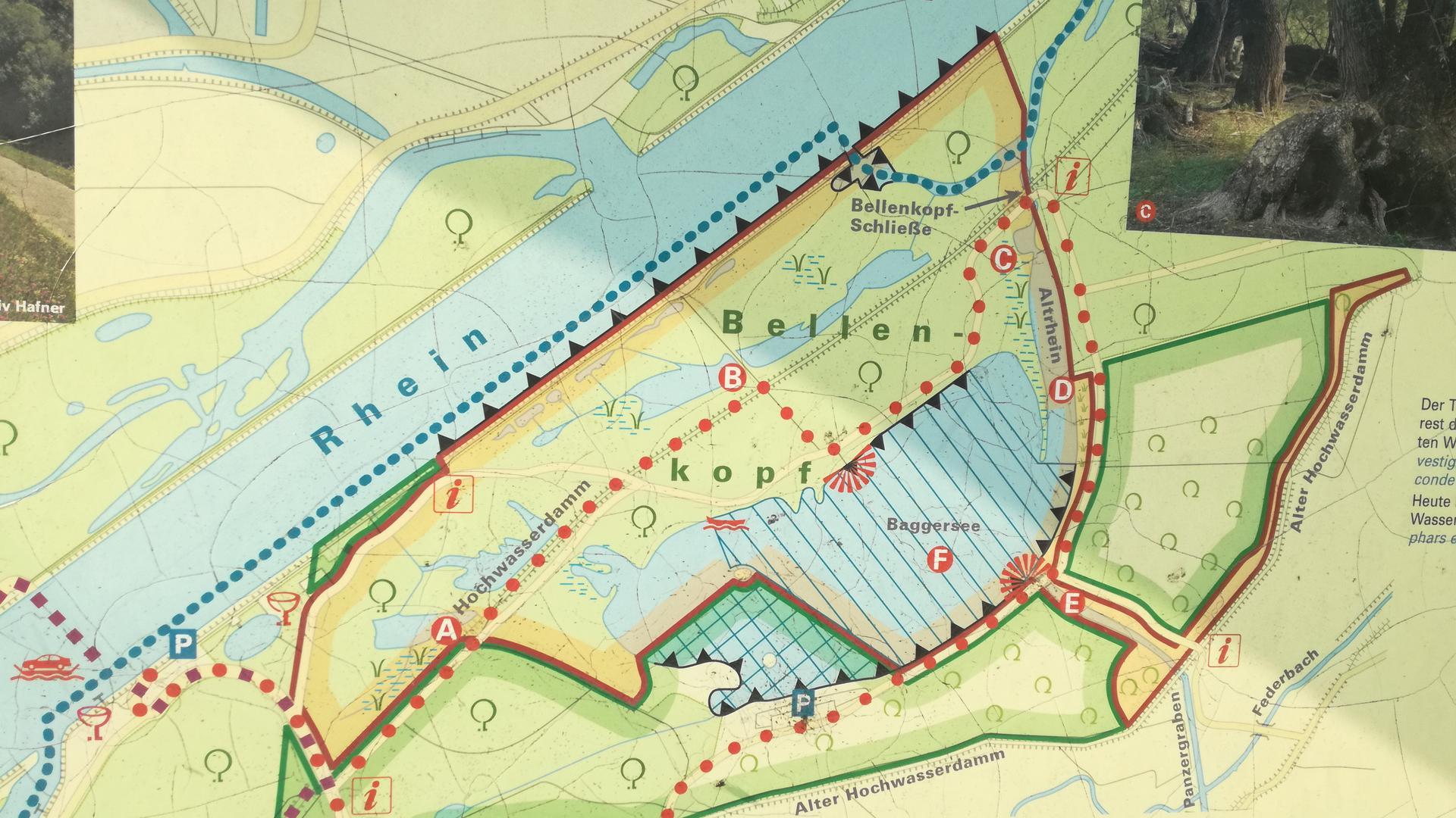 Karte Fermasee