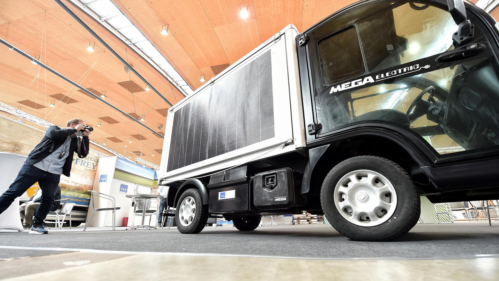 29.09.2021 Messe Karlsruhe: NUFAM die Nutzfahrzeuge Messe