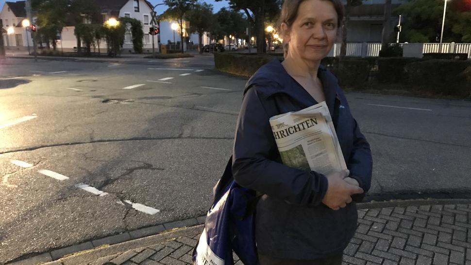 Nach dem Feierabend kommt die Familie: Für Sanela Schulz endet der Arbeitstag am frühen Morgen, danach kümmert sie sich um ihre sieben Kinder.