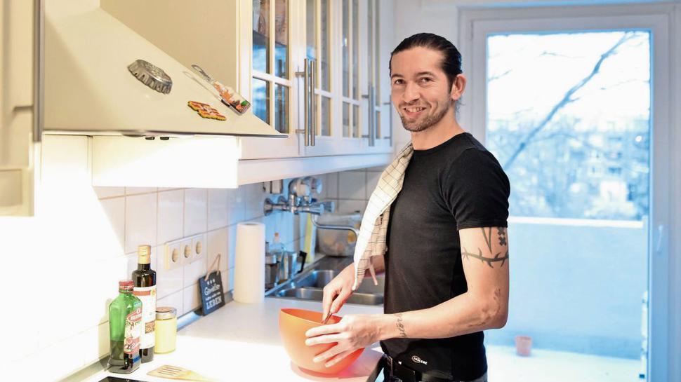 """Reyad """"Rio"""" Dorghoty hatte bisher noch keinen Nachtisch zubereitet."""