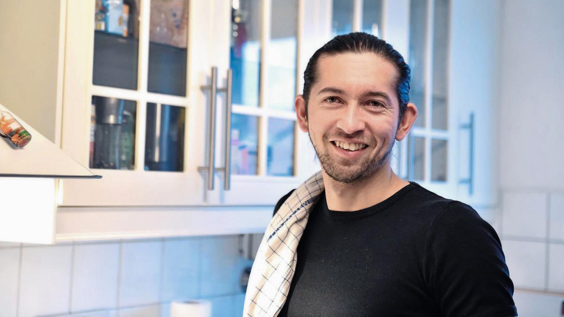 """Der Karlsruher Erzieher Reyad """"Rio"""" Dorghoty hat bis vor zwei Wochen nur drei Menschen davon erzählt, dass er bei der Koch-Show """"Das perfekte Dinner"""" mitmacht."""