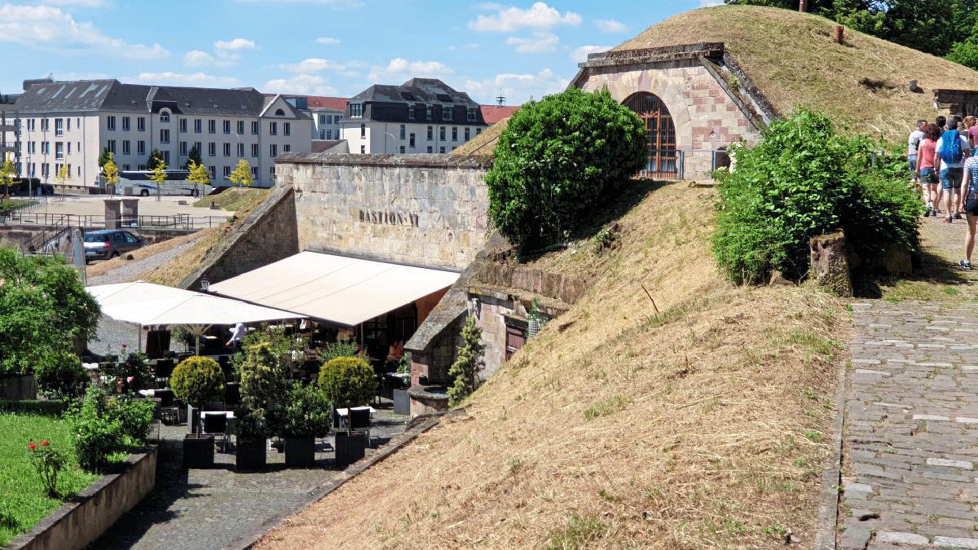 bastion in der Stadt Saarlouis im Saarland