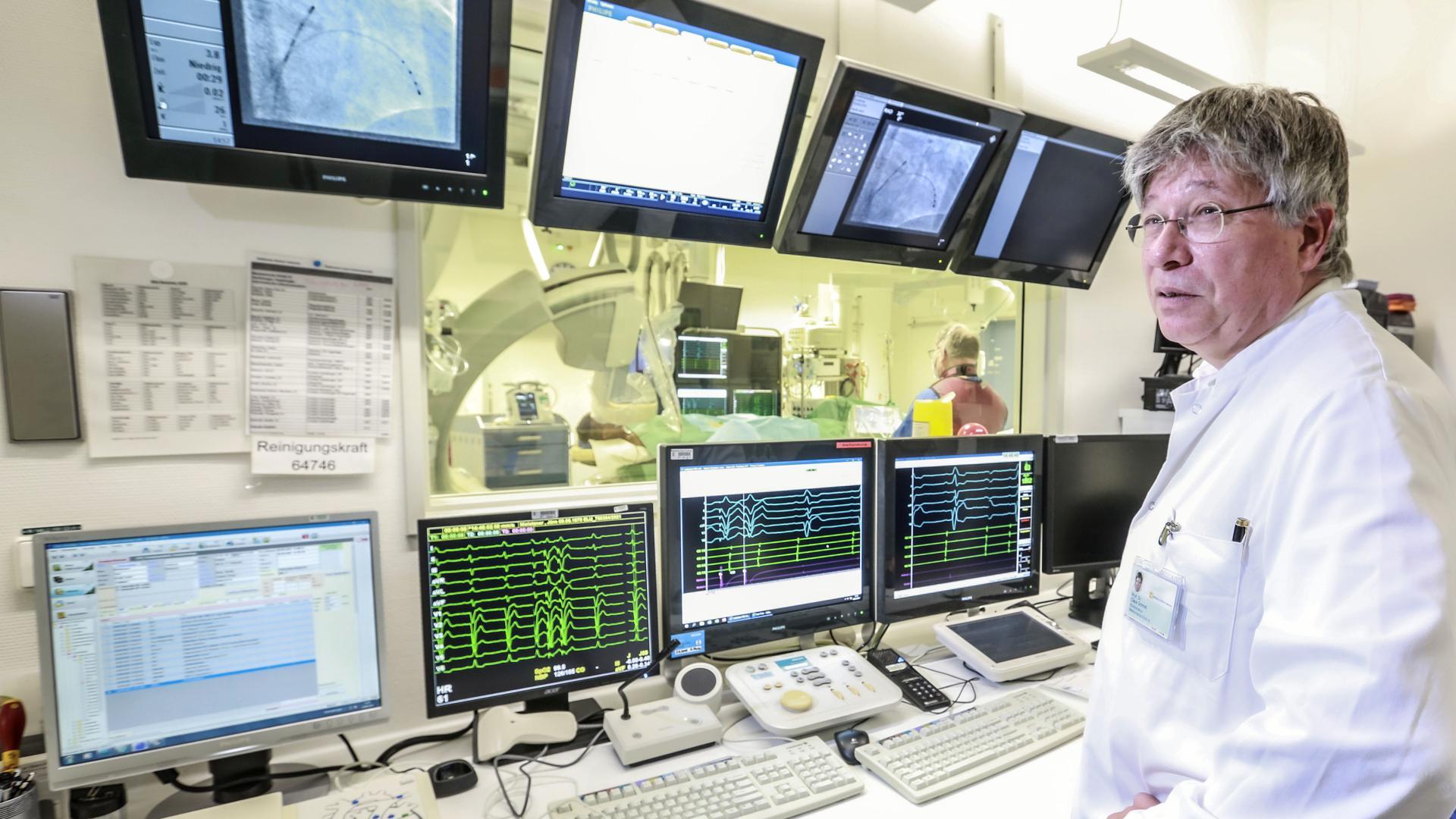 Professor Claus Schmitt Städtisches Klinikum Kardiologie