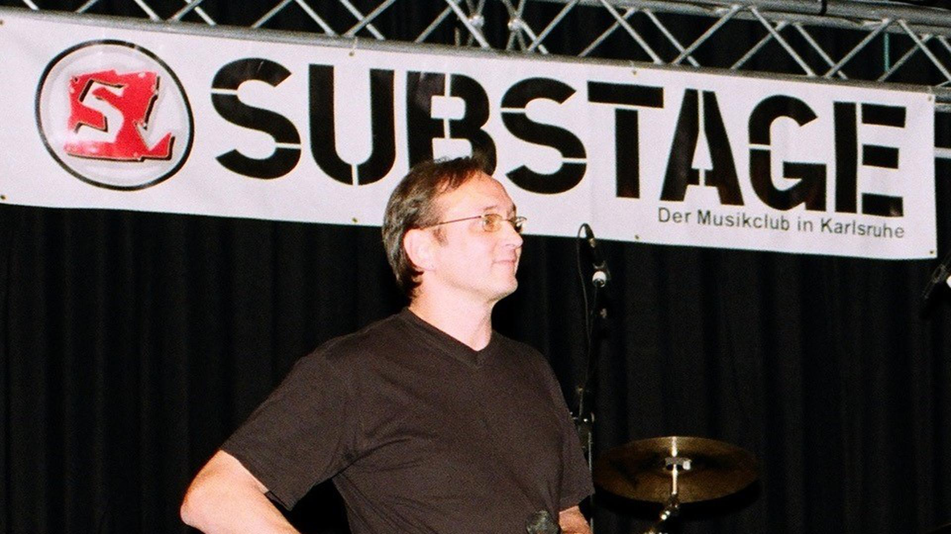 Andreas Schorpp, Mitgründer und 1. Vorsitzender des Substage Karlsruhe e.V.